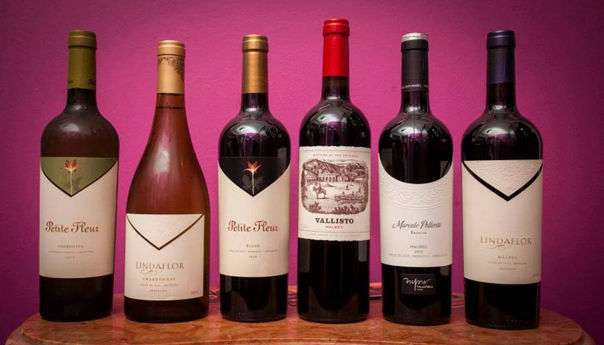 Los vinos que pudimos disfrutar.