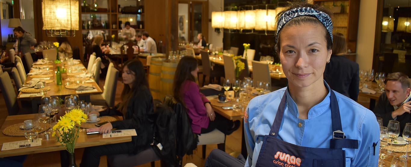La cocina filipina de Christina Sunae pasó por Mendoza